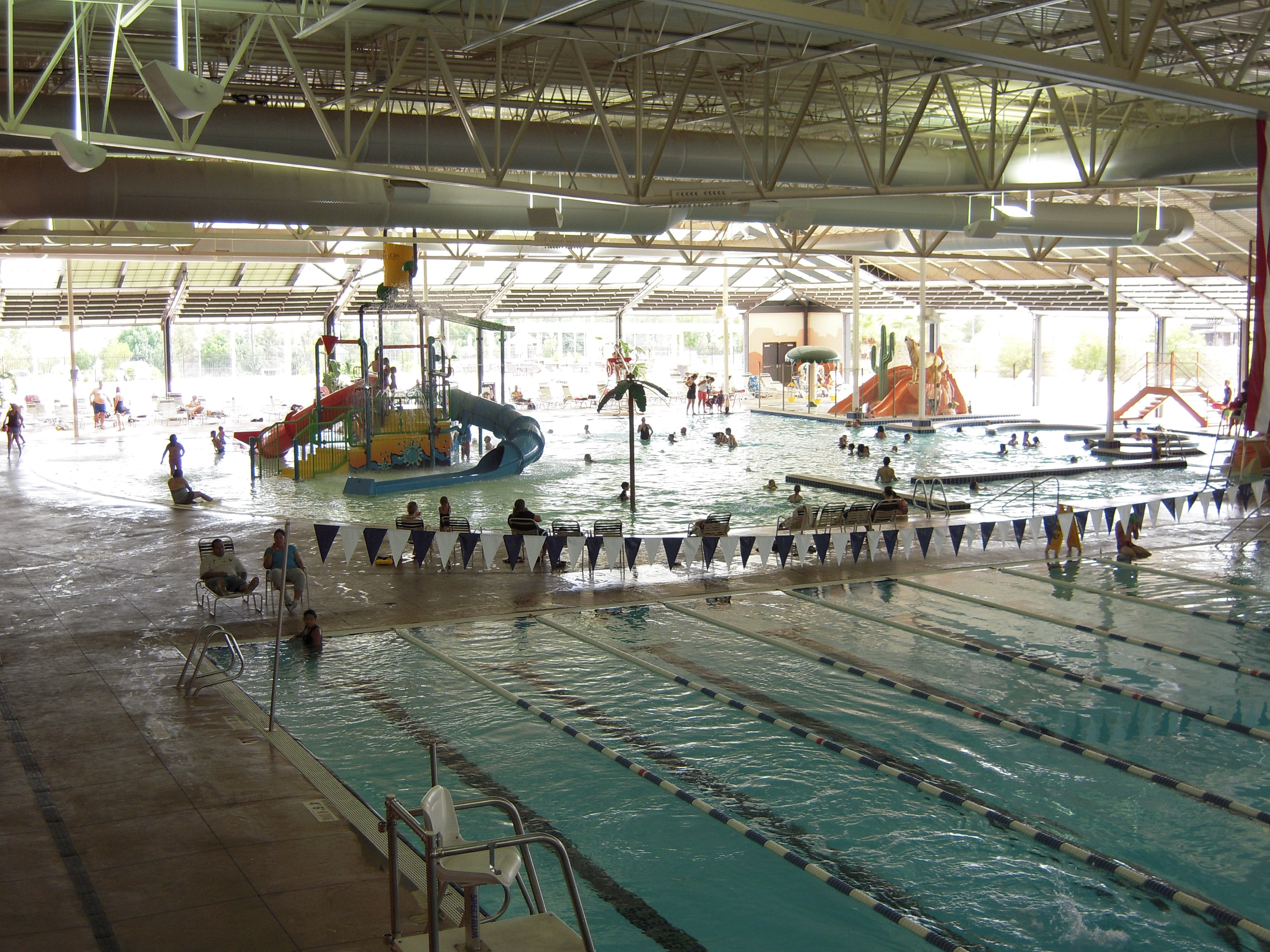 Recreation centers aquatic centers and water parks images for Swimming pool design utah